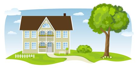 country house: Country house