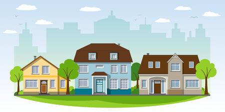 suburban home: Beautiful country houses