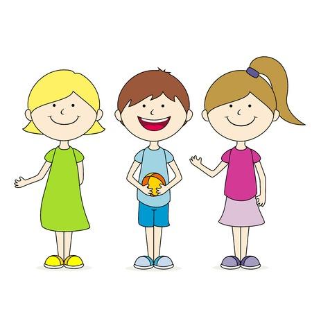 three friends: three friends