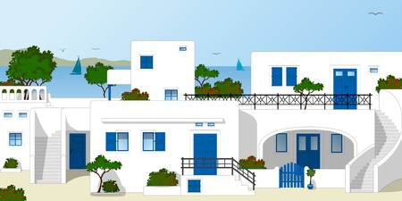 traditionally: Traditional Greek houses