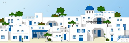 Traditional Greek houses