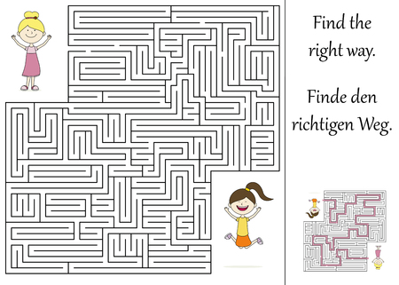 submission: Find the right way through the maze