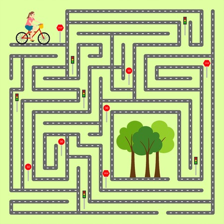 right of way: Find the right way through the maze