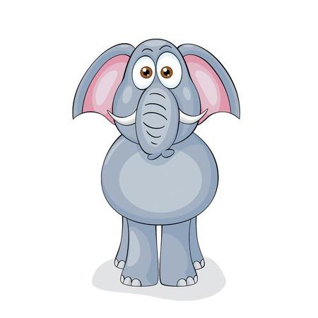 submission: Funny Elephant Illustration