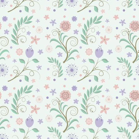 submission: Background with flowers Illustration