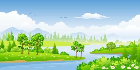 buzzer: Summer Landscape