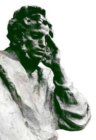 classics: Alexander Sergeevich Pushkin, great classics Russian poetry. Stock Photo