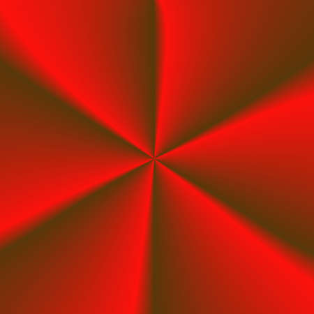 portiere: Abstract red background, the rotation of large, wide blades. Folds of cloth.