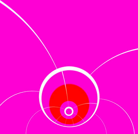 dividing lines: Purple plane with dividing lines and circles. background to the text.