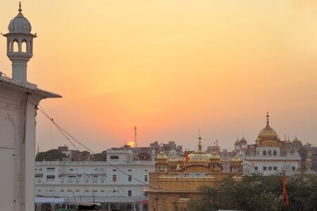 The Harmandir Sahib, also Darbar Sahib and informally referred to as the Golden Temple, is the holiest Sikh gurdwara located in the city of Amritsar, Punjab, India