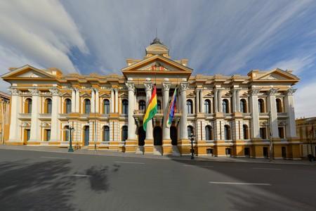 murillo: Bolivian Government Building in a Spanish Colonial Style, Plaza Murillo, La Paz