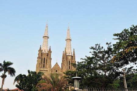 spiritualism: Neo-gothic Roman Catholic Cathedral, seat of the Roman Catholic Archbishop of Jakarta