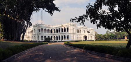 National Museum is a colonial style building in the center of Colombo, capital of Sri Lanka
