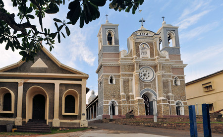 St. Marys Christian Cathedral in Dutch Galle Fort, Sri Lanka