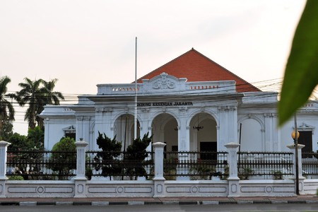 Gedung Kesenian building, Dutch colonial architecture of in government district, Jakarta, Indonesia