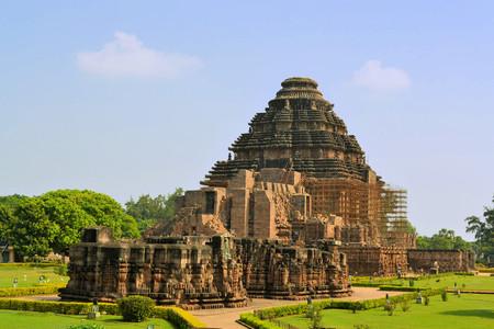 Konark Temple du Soleil est un hindou Temple du Soleil 13ème siècle, aussi connu comme la Pagode Noire Banque d'images - 37323866