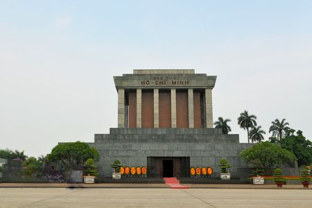Ho Chi Minh was the leader of Vietnam during the War. His remains are being kept in a Mausoleum in Hanoi, capital of Vietnam