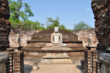 heritage protection: Vatadage  is heritage ancient city of Polonnaruwa, Sri Lanka. A Vatadage is an ancient monument and it was built for the protection of a stupa.