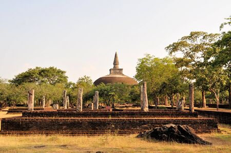 vihara: Rankoth Vihara is a Buddhist Stupa in the ancient city and former capital of Polonnaruwa, Sri Lanka