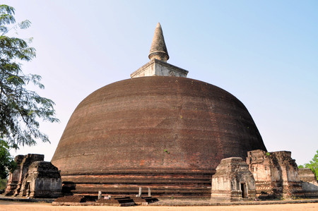 vihara: Rankoth Vihara is a Buddhist Stupa in the ancient city and former capital of Polonnaruwa, Sri Lanka