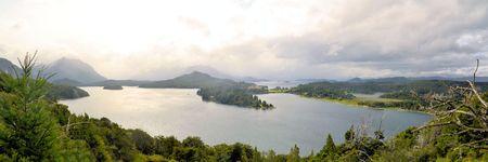 bariloche: hotel llao llao and lakes near bariloche argentina, patagonia, argentina, south america Stock Photo