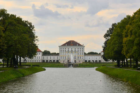 nymphenburg palace: Schloss Nymphenburg, a Baroque palace in Munich, Bavaria. The palace was the main summer residence of the rulers of Bavaria.