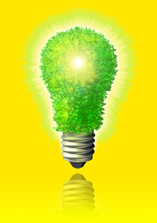 Green eco energy Stock Photo - 3626274