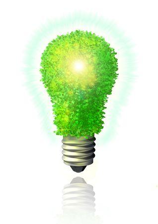 Green eco energy Stock Photo - 3626273