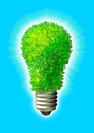 Green eco energy Stock Photo - 3626281