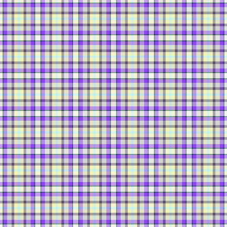 packing paper: Seamless wall-paper, plaid, gray-violet. Bright tartan texture for clothes, packing paper, cards, invitation and holidays. A pattern for any kind of design. Stock Photo