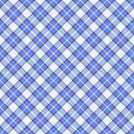 packing paper: Seamless wall-paper plaid, blue. A classical pattern with rhombuses, a bright print for fabric, greeting cards, packing paper. Basis for design.