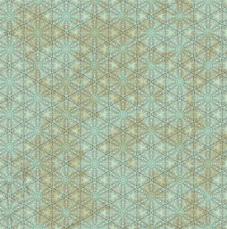 Vintage background with an abstract pattern, green. A basis for design in ancient style.
