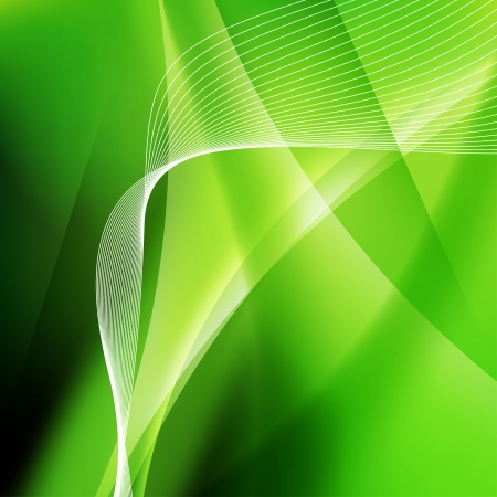 Abstract background with wave Vector