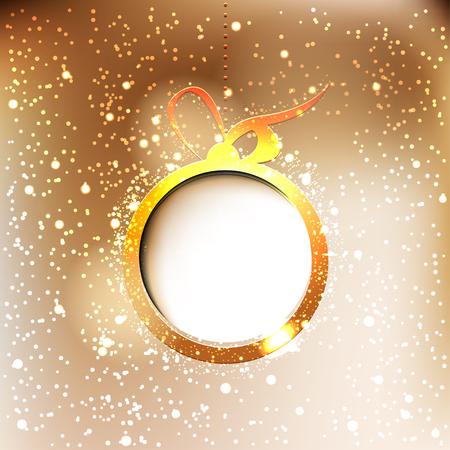 Elegant Christmas background with snowflakes Illustration