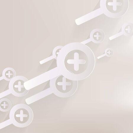 Zoom in web icon Vector
