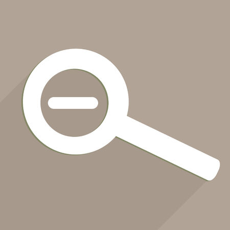 Zoom out web icon Vector