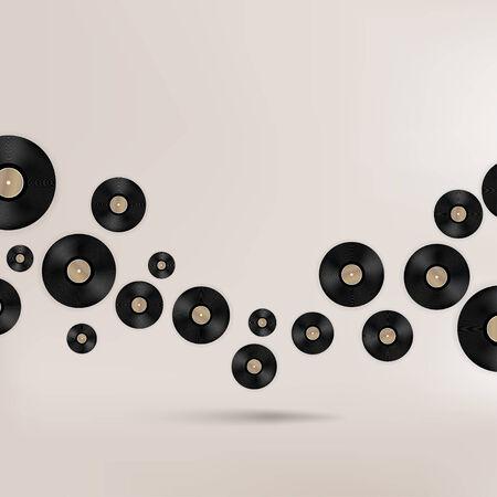 抽象的な音楽的背景