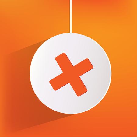 Delete web icon Vector
