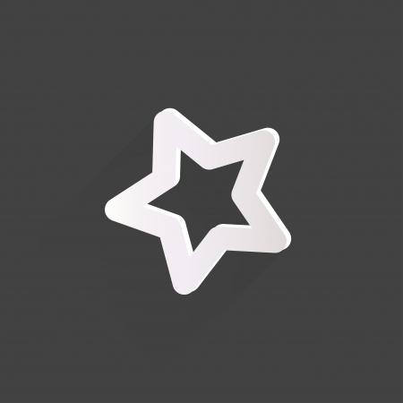 Star favorite web icon Stock Vector - 23009714