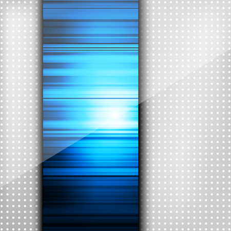 Abstract background with colored lines and geometric elements on paper layers Vector