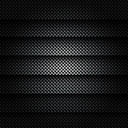Metallic background with carbon texture Stock Vector - 23067122
