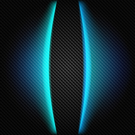 Metallic background with carbon texture and lines Иллюстрация