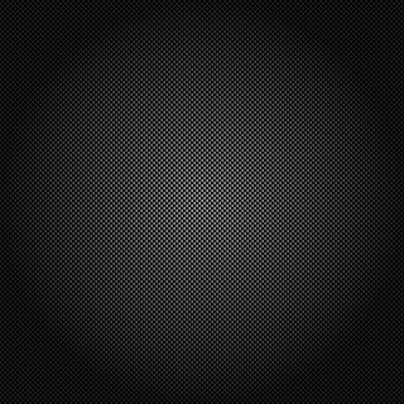 Metallic background with carbon texture Stock Vector - 23067136