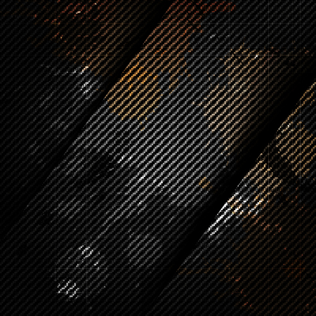 Old metal background with carbon texture Stock Vector - 23067410