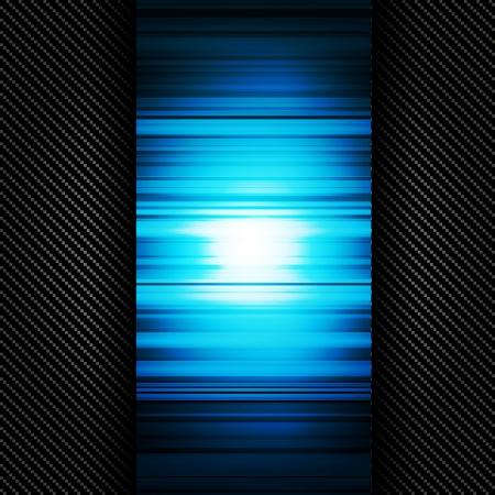 carbon fiber: Fondo metálico con textura de carbono