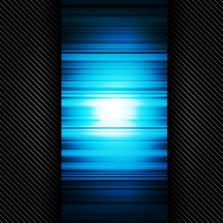Metallic background with carbon texture Stock Vector - 23067424