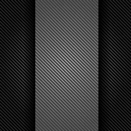 Metallic background with carbon texture Stock Vector - 23067434