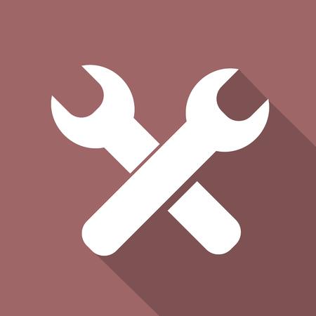 reconditioning: Vector repair web icon