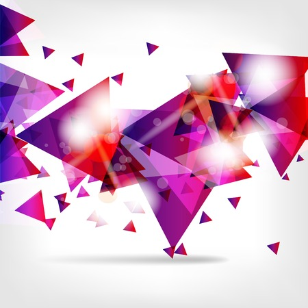 Abstract background with geometric elements Illustration