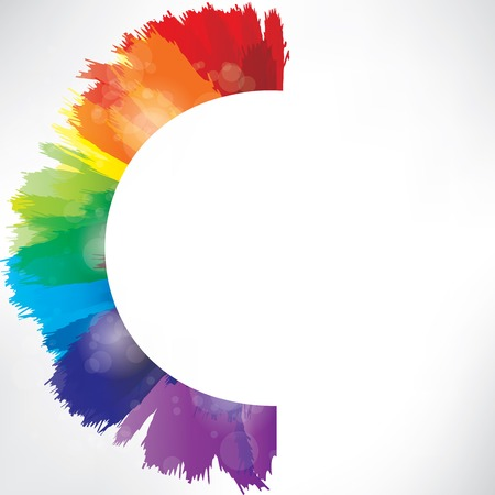 watercolours: Splash on abstract background